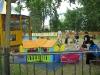 Детская площадка по пути на море.